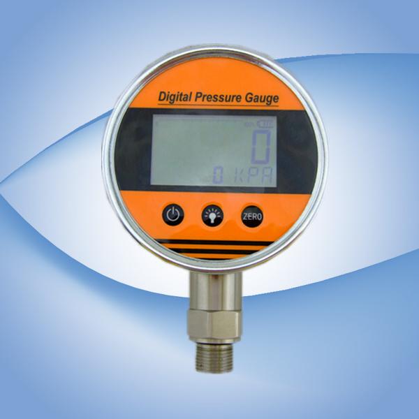 9V Battery Powered Digital Pressure Gauge0~1000 Psi