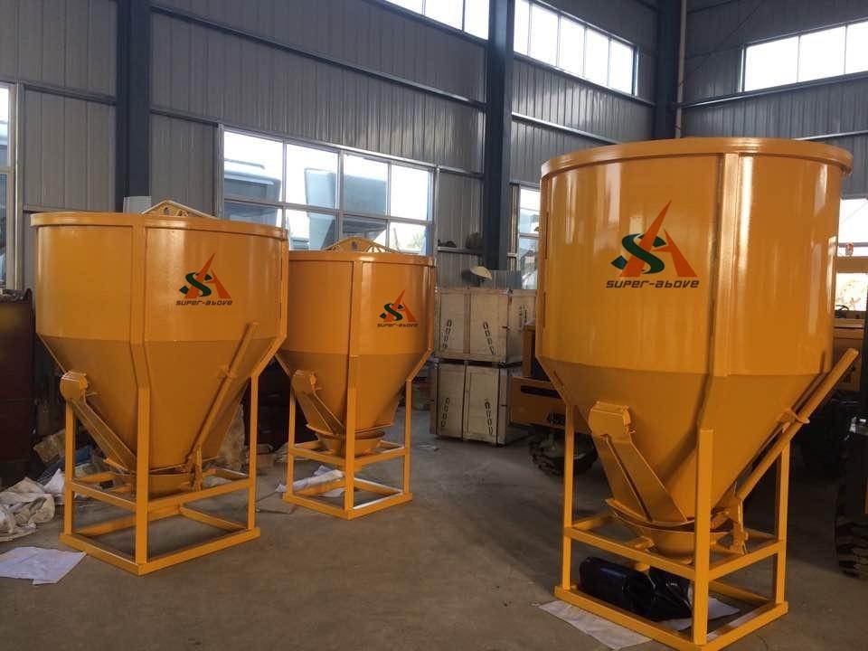 800L 1000L 2000L Concrete Bucket for Construction