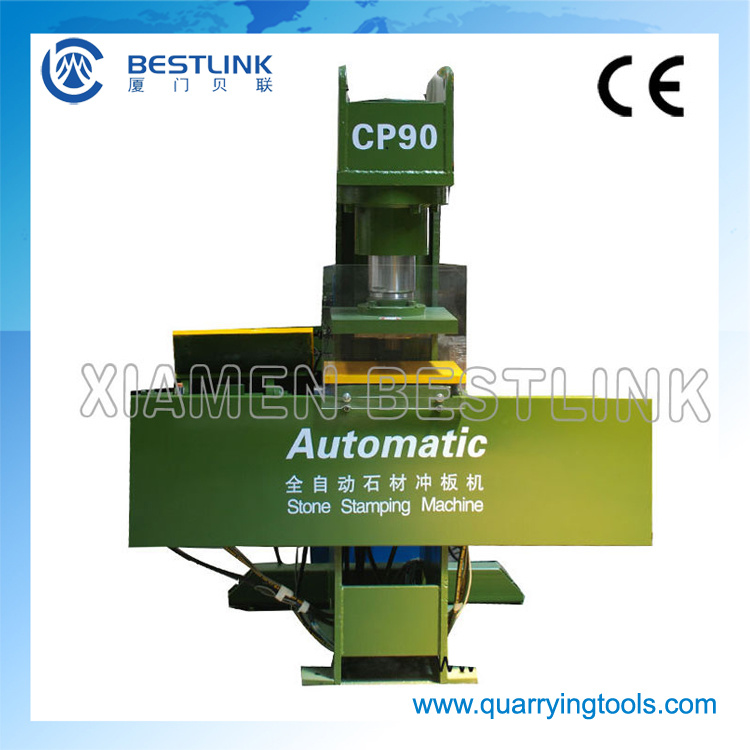 Stone Stamping & Recycling Machine for Waste Marble and Granite Slabs