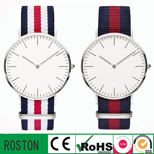 Men Design Nylon Strap Dw Sport Watch