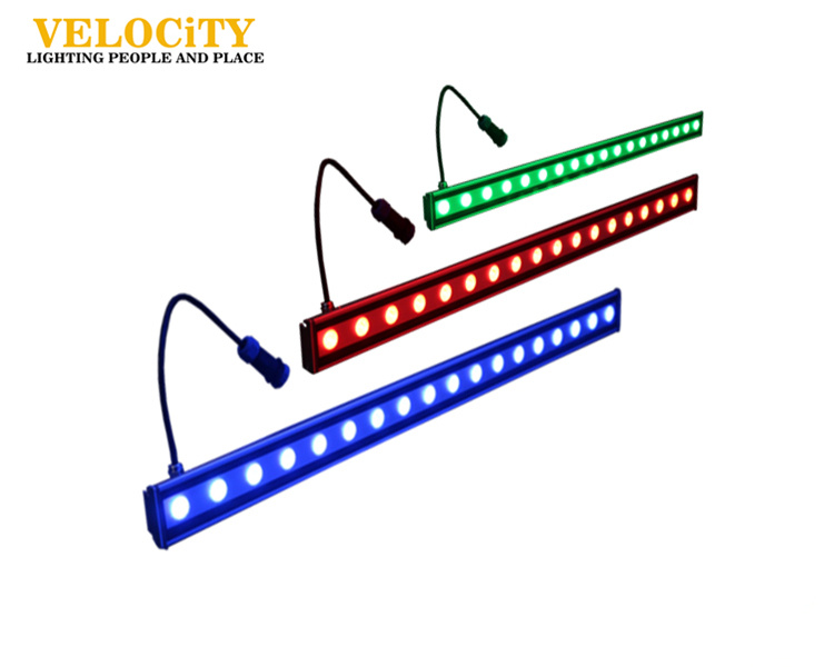 Outdoor RGB IP65 Color Changing LED Wall Washer Light