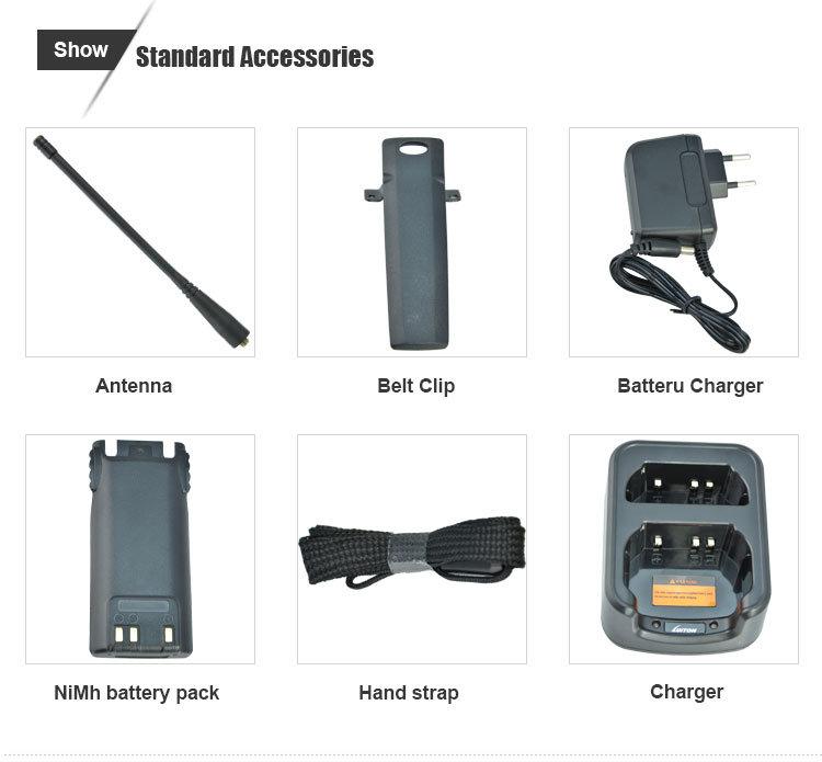 Waterproof IP67 Dual Band Radio Handheld Transceiver Luiton Lt-558UV
