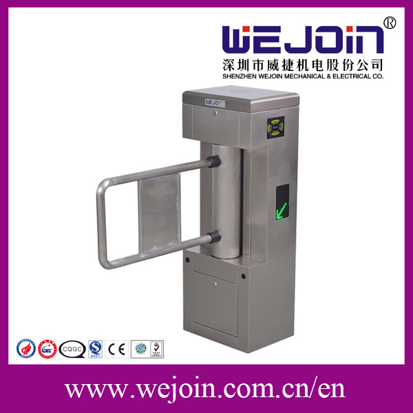 Automatic Swing Turnstile Gate with Access Control Mechanize Pedestrian Turnstile