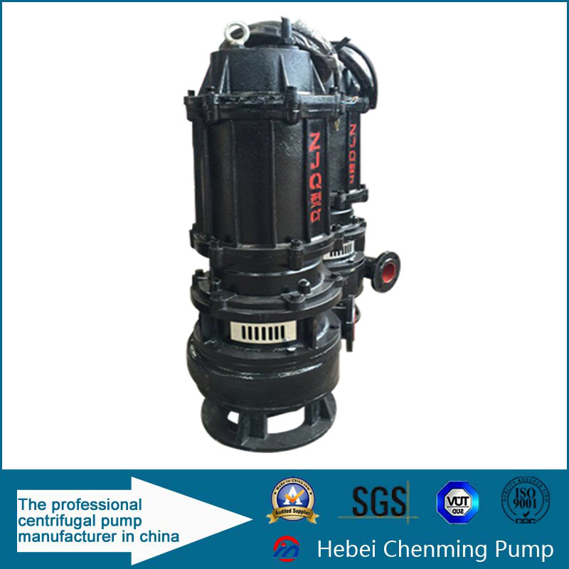Zjq Gold Mine Centrifugal Submersible Pump for Slurry