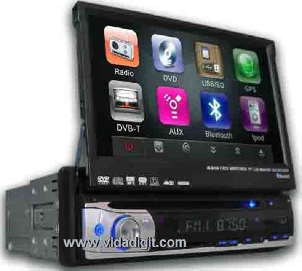 7 Inch in-Dash One DIN DVD/GPS/Dtv (VD-7901GPS)