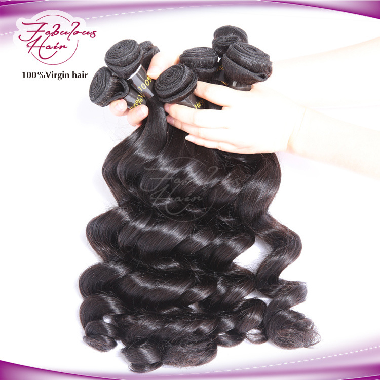 Grade 8A Loose Wave 100% Virgin Brazilian Hair Extension