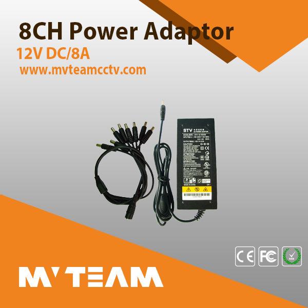 CCTV Camera Power Supply Mvteam CCTV Camera Accessories