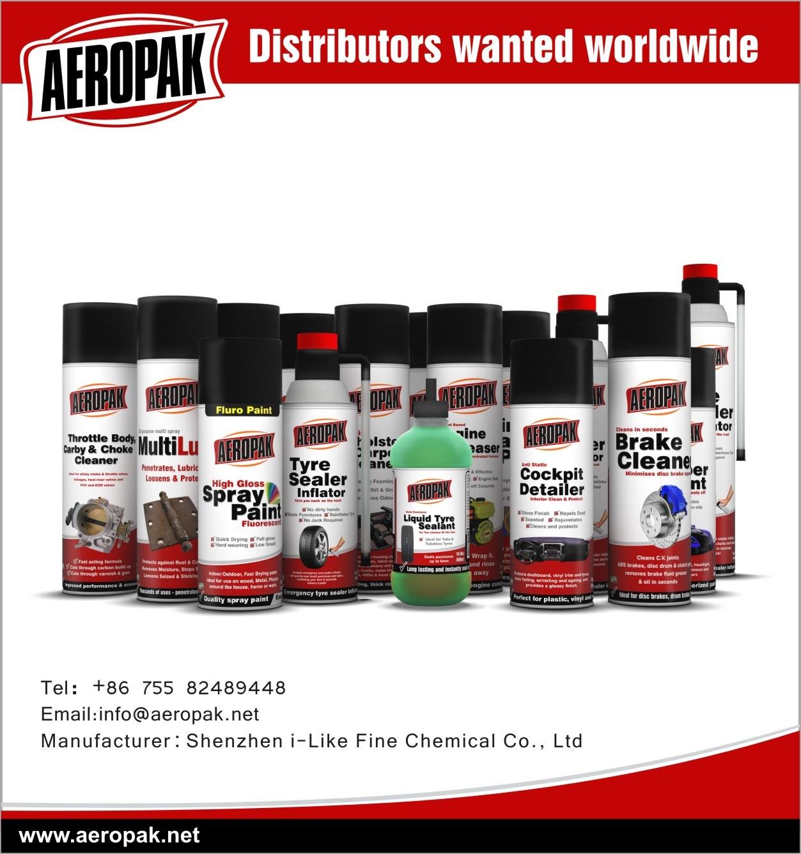 Car Care Dashboard Polish Spray Wax