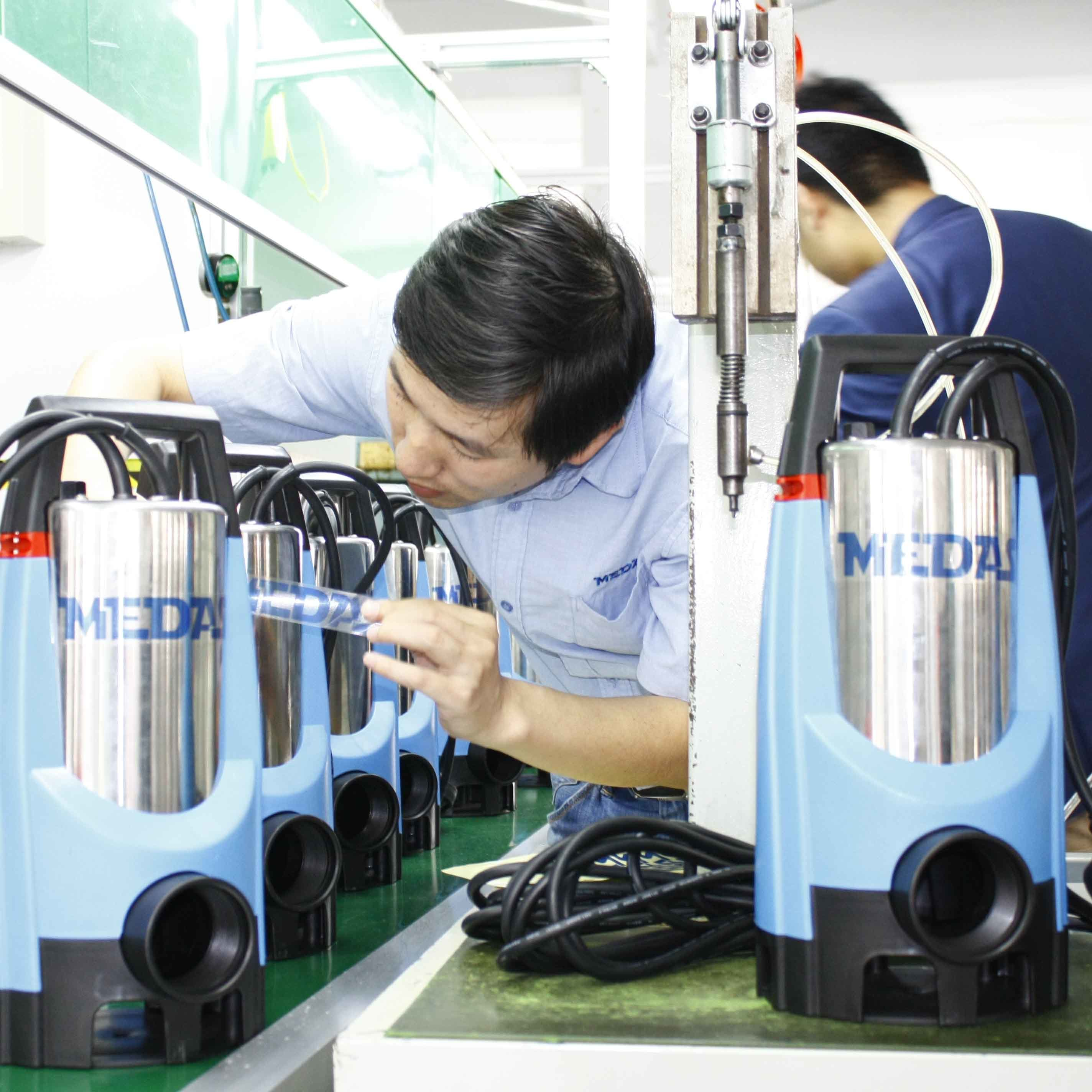 Stainless Steel Shaft Submersible Water Pump with Mechanical Seal