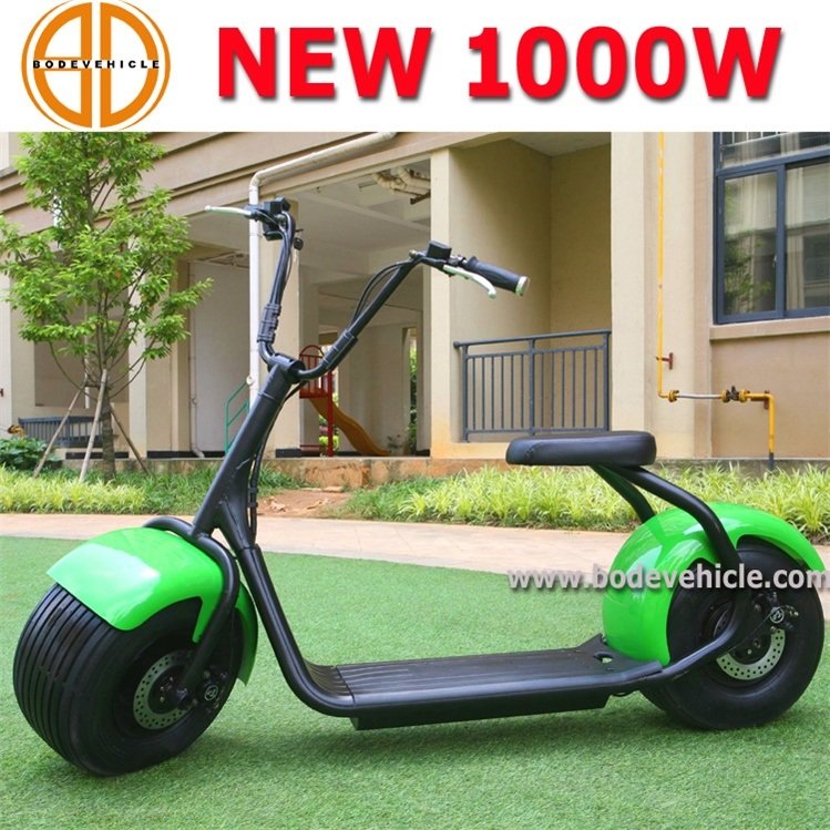 Bode 1000W Big Wheel Electric Moped Scooter Harley with Lithium Battery