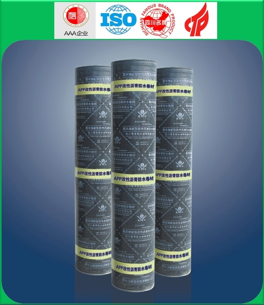High Quality 3mm APP PE PE Waterproof Membrane