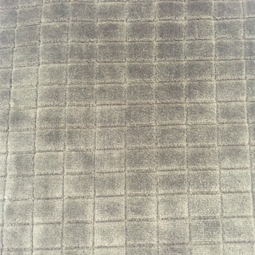 100% Polyester Grid Jacquard Flannel Fleece