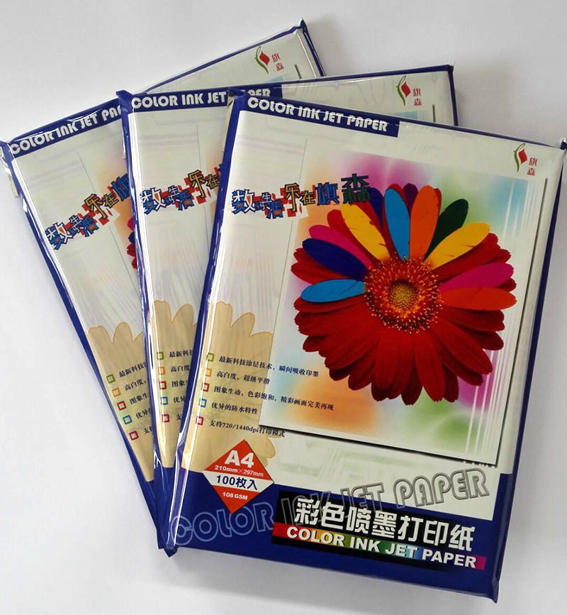 180GSM A4 20sheets Glossy Inkjet Photo Paper