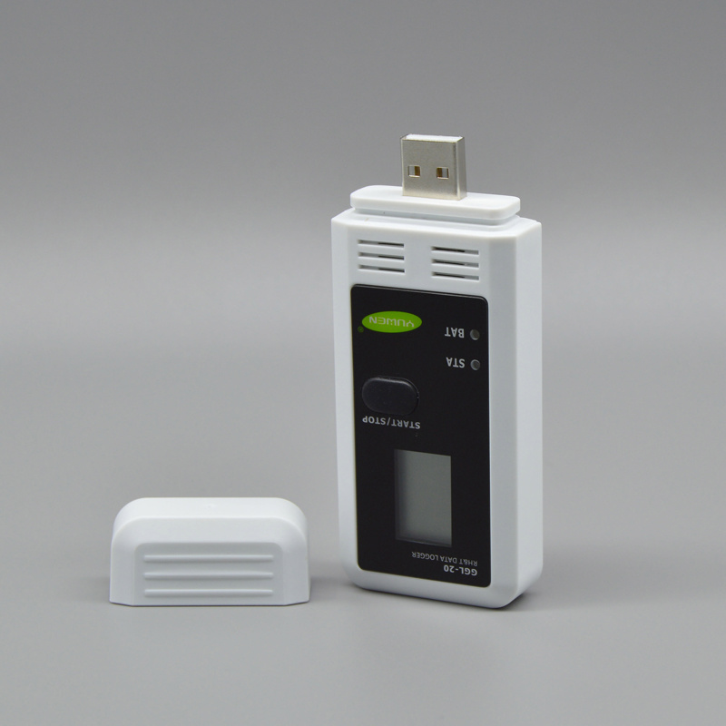 USB Data Logger Temperature Humidity Recorder for Greenhouse Ggl-20
