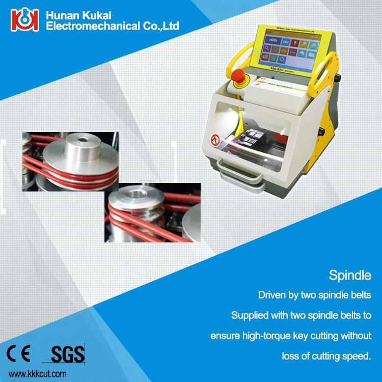 China Cheapest Fully Automatic Used Key Cutting Machine Multiple Languages (SEC-E9)