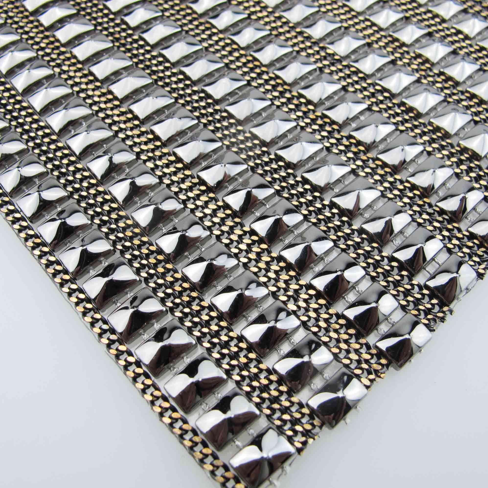 Fahsion Jewelry Chain Rhinestone Mesh