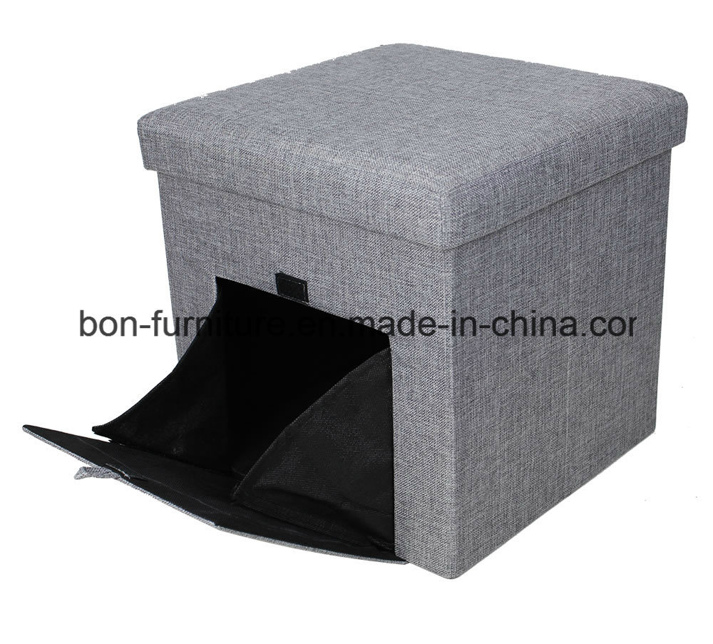 Pet Carrier Storage Stool with Door in Front