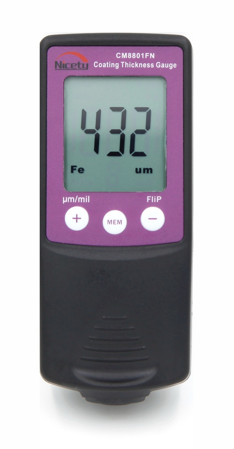 Digital Paint Coating Thickness Gauge Meter Thickness Tester Cm8801fn