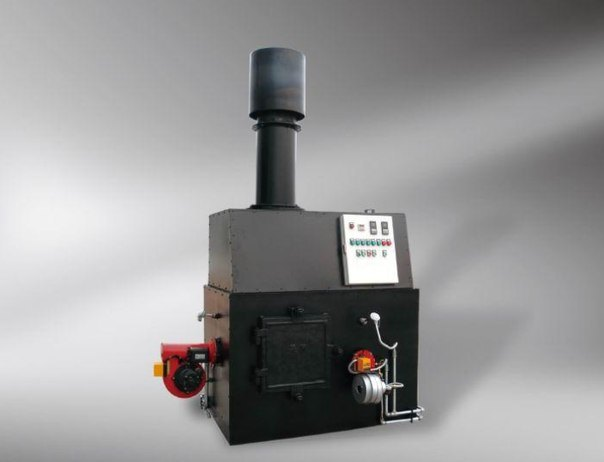 Two Chamber Incinerator for All Kinds of Waste