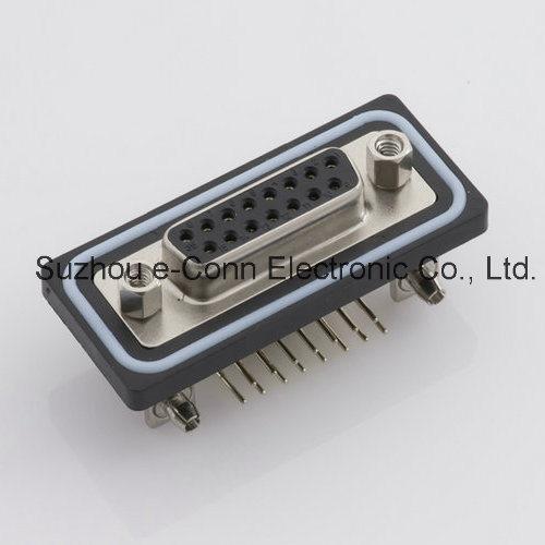 Waterproof D Retagular Connector IP67 IP68