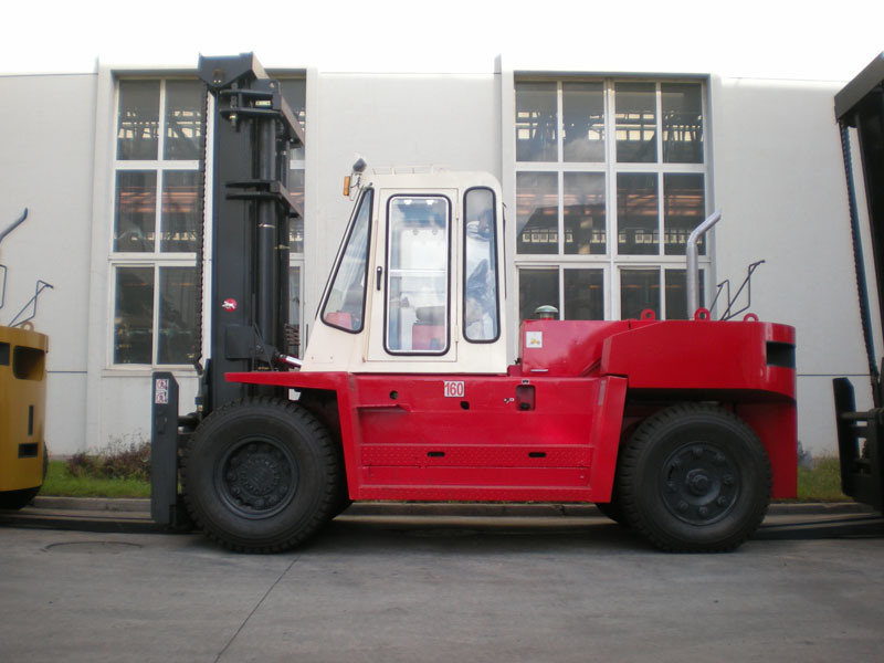Chinese Diesel Forklift with 16ton Capacity (FD160QFB)