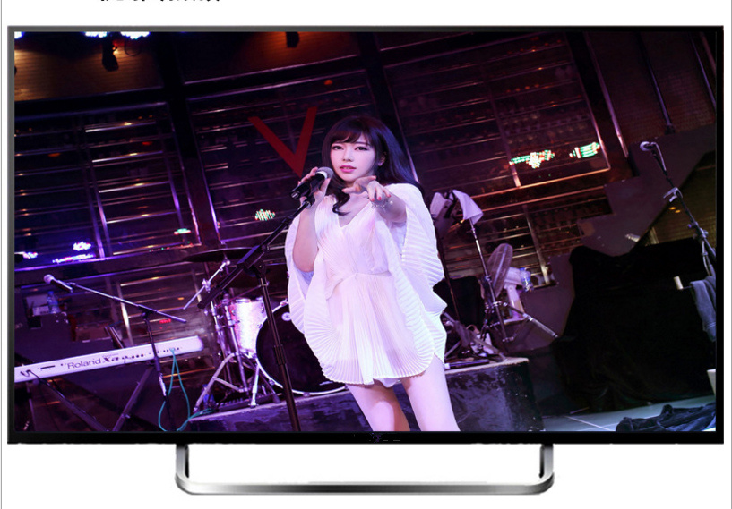 49′′flat Screen TV with Network