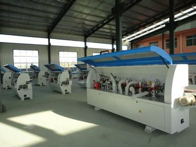Automatic Wood Edge Banding Machine with Buffing, Scraping, Fine Triming, Rough Triming, End Triming, Gluing, Drilling, Corner Triming, Pre-Miling etc