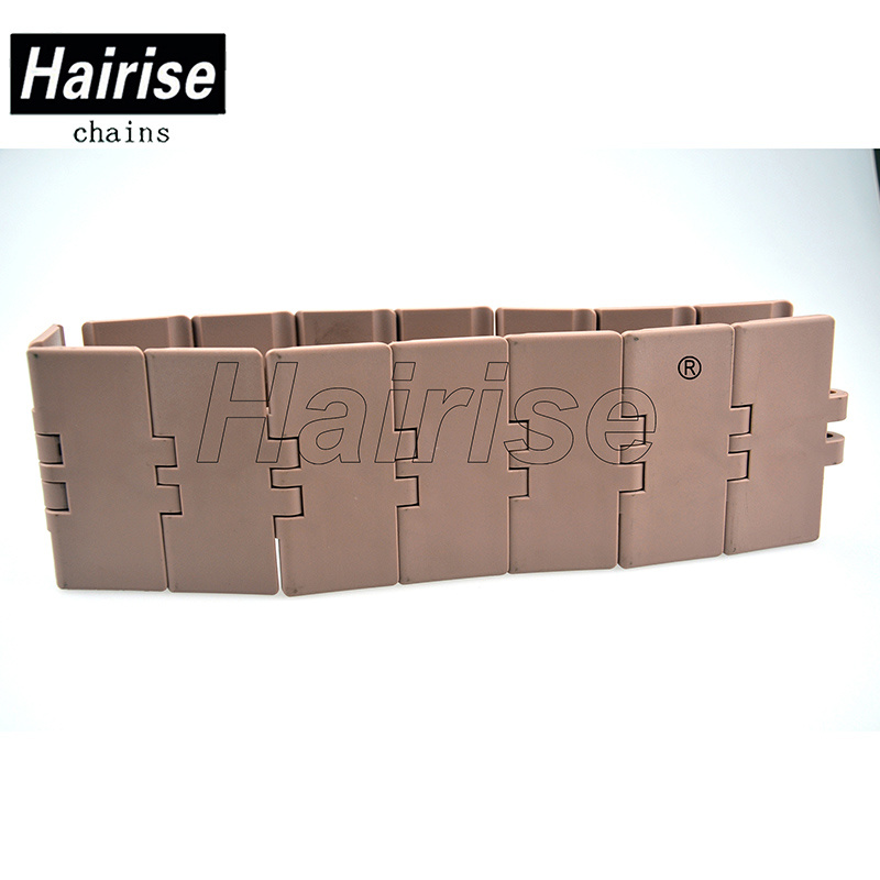 Flexible Flat Top Single Hinge Plastic Conveyor Chain (820-k325)