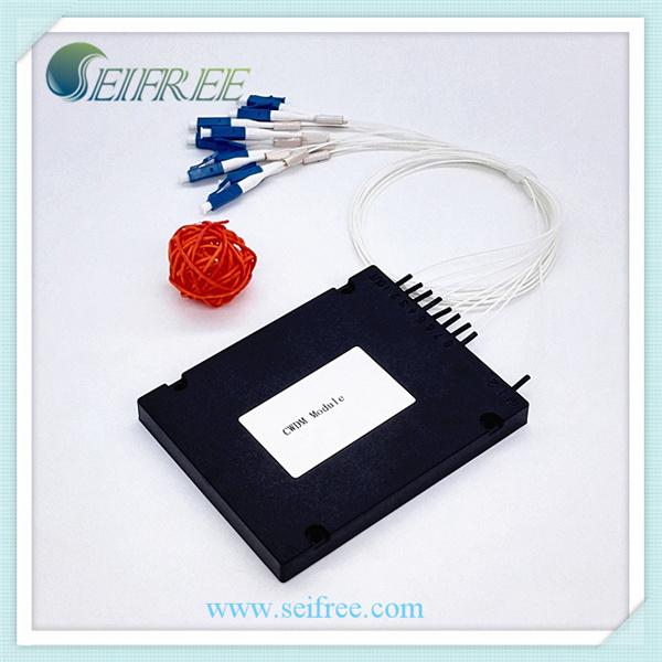 8 Channels Fiber Optic CWDM Mux Dmux Module ABS Box