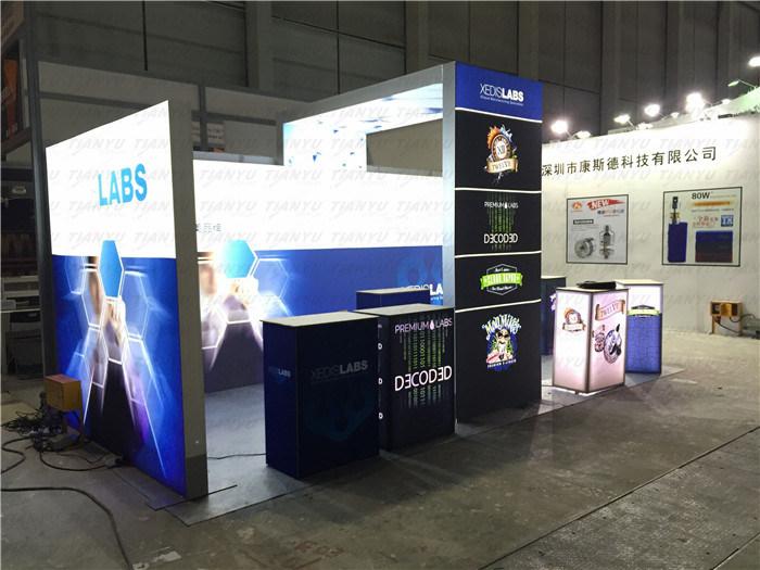 Fashion LED Trade Show Display Exhibition Equipment