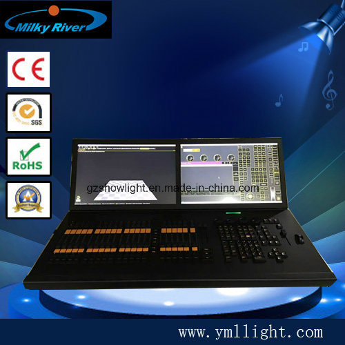 Command Wing and Fader Wing with Touch Screen and CPU Ma2 Lighting Console