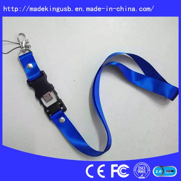 Hotsales Lanyard USB Flash Disk, USB Flash Pen Drive