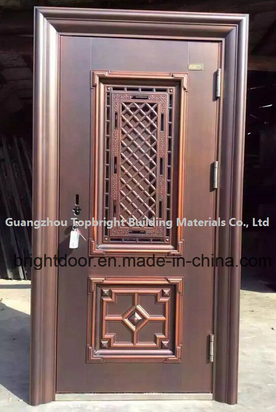 Door china chinese door red chinese door with a for Door design steel
