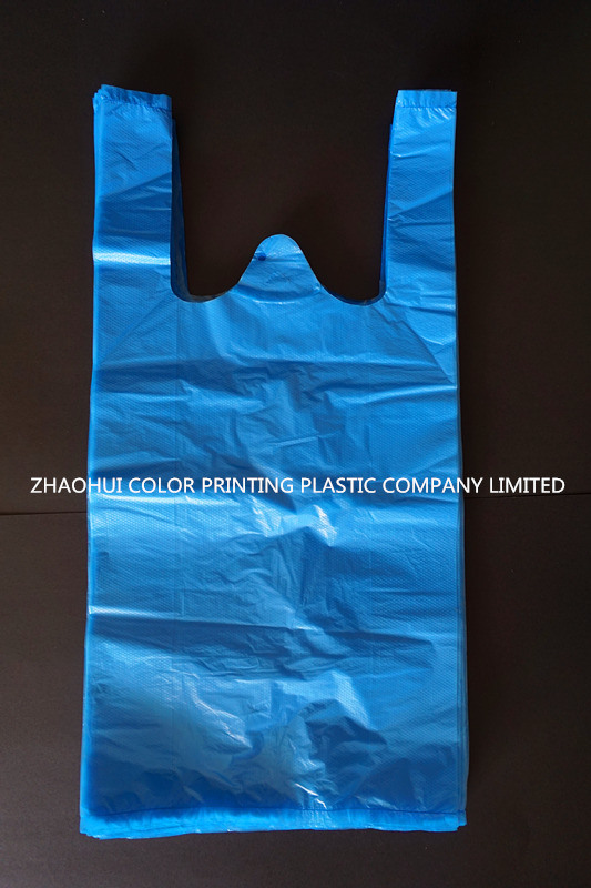 T-Shirt Bag Without Printing / Plastic T-Shirt Bag