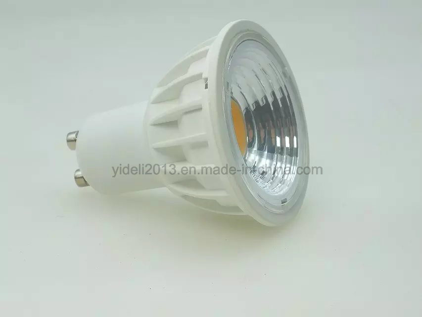 New GU10 MR16 5W Dimmable COB LED Cup Lamp Bulb Commercial Lighting Downlight Spotlight