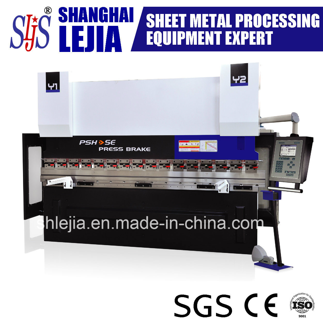 CNC Steel Metal Hydraulic Press Brake (PSH-SE)