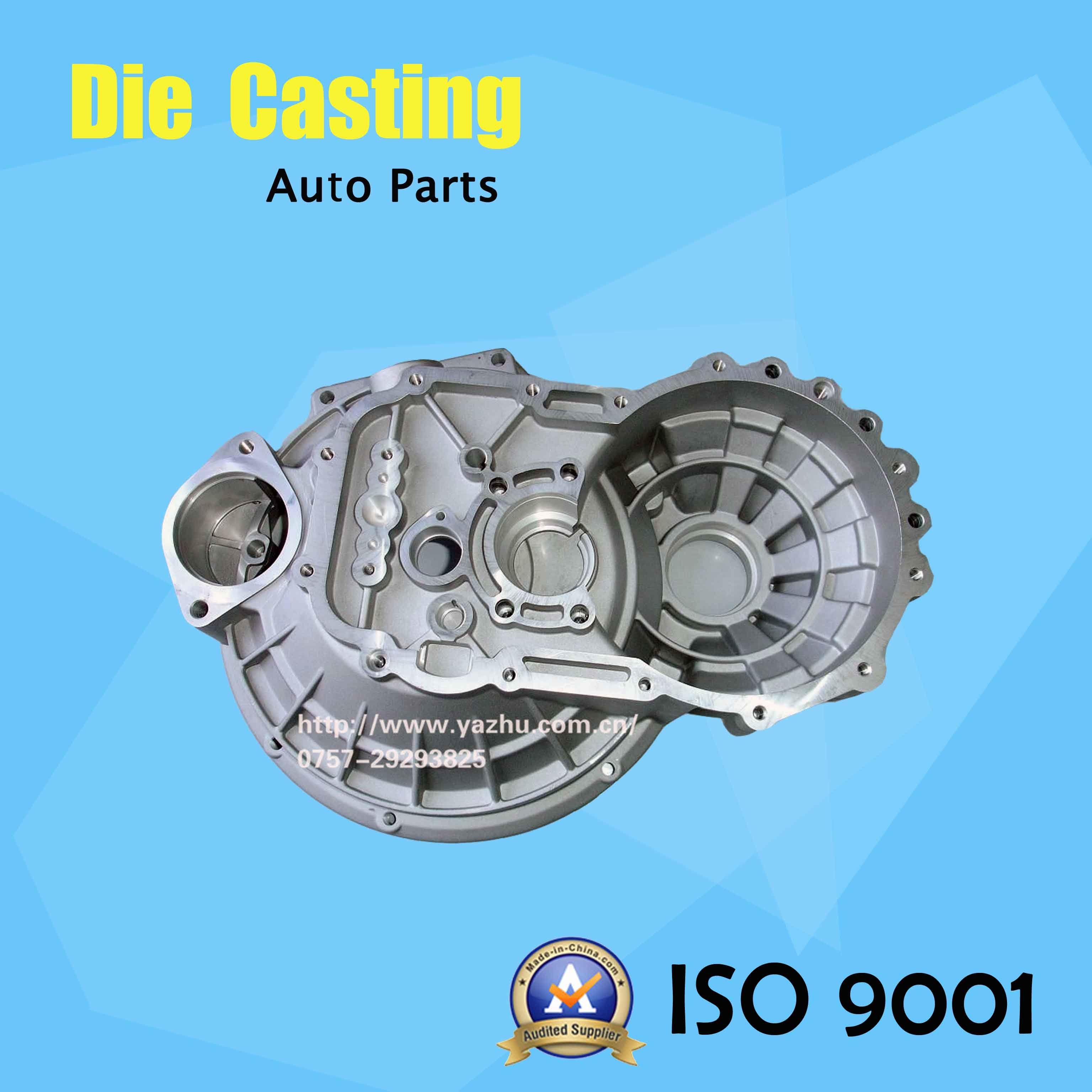 Aluminum Gravity Casting for Auto Water Pump Housing