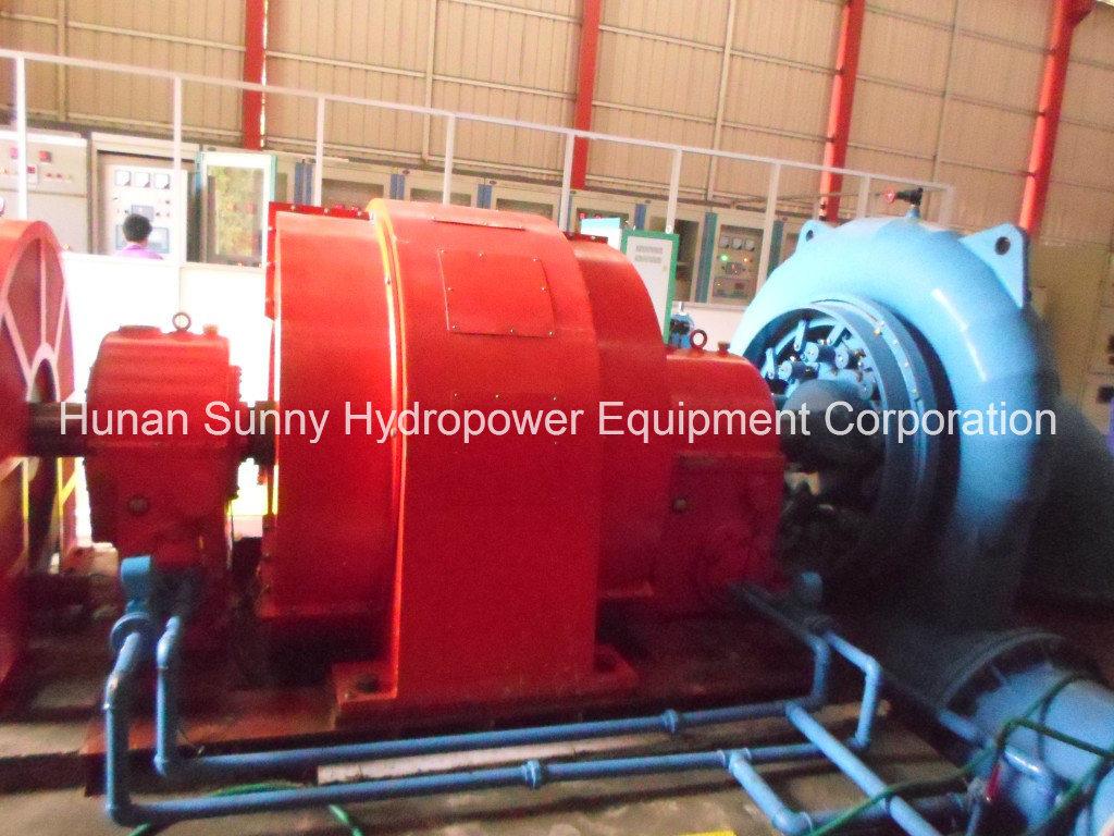 Hydro (Water) Francis Turbine Equipment/ Hydropower Station/ Hydro Turbine