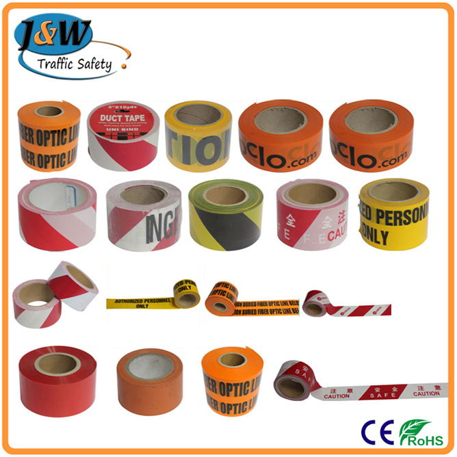 Printed PE Hazard Warning Tape, Plastic Barricade Tapes.