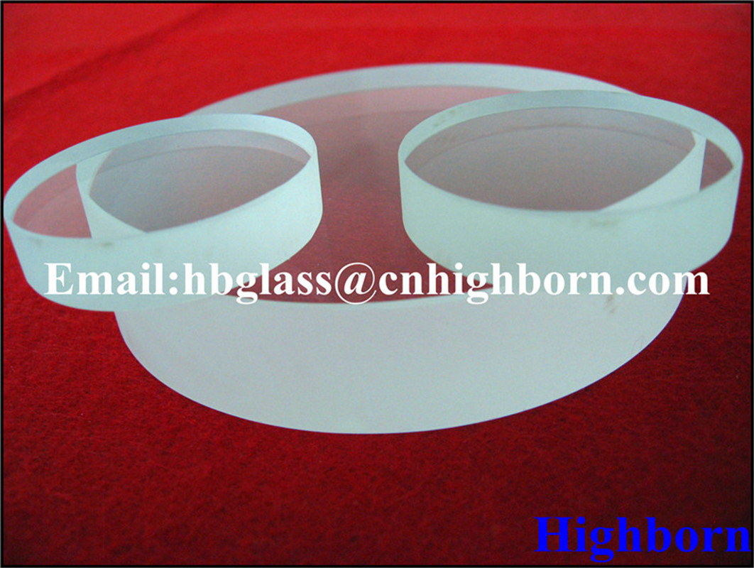 High Purity 30mm Thickness Clear Quartz Glass Plate