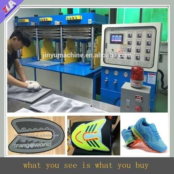 Kpu Sport Vamp Making Machine / Shoes Surface/Shoe Cover Equipment