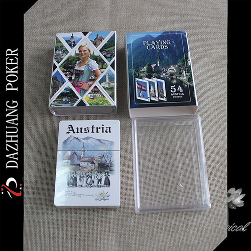 Austria Arts Poker with 54 Photoes