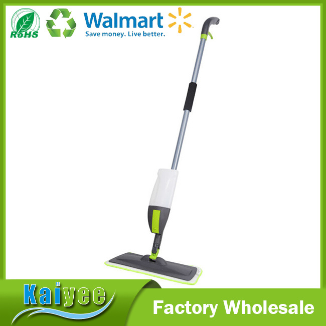 Eco-Friendly Colorful Easy Spray Mop with Microfiber Clothes