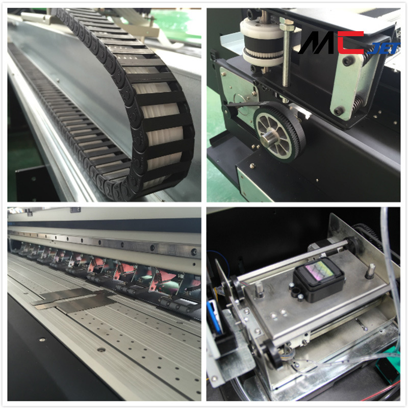 Mcjet Eco-Solvent Digital Flex Printing Machine with Epson Dx10 Printheads