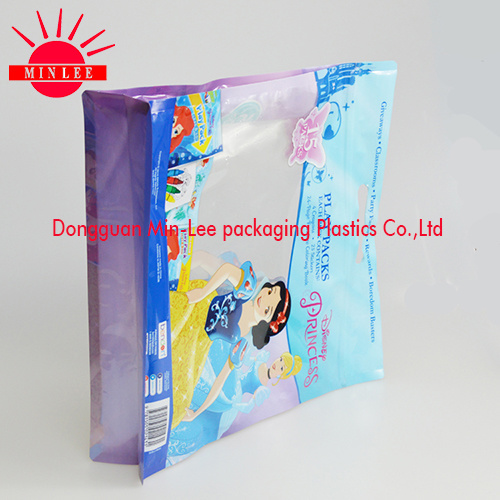 Packing Bag for Pet Food/Flat Bottom Plastic Bag