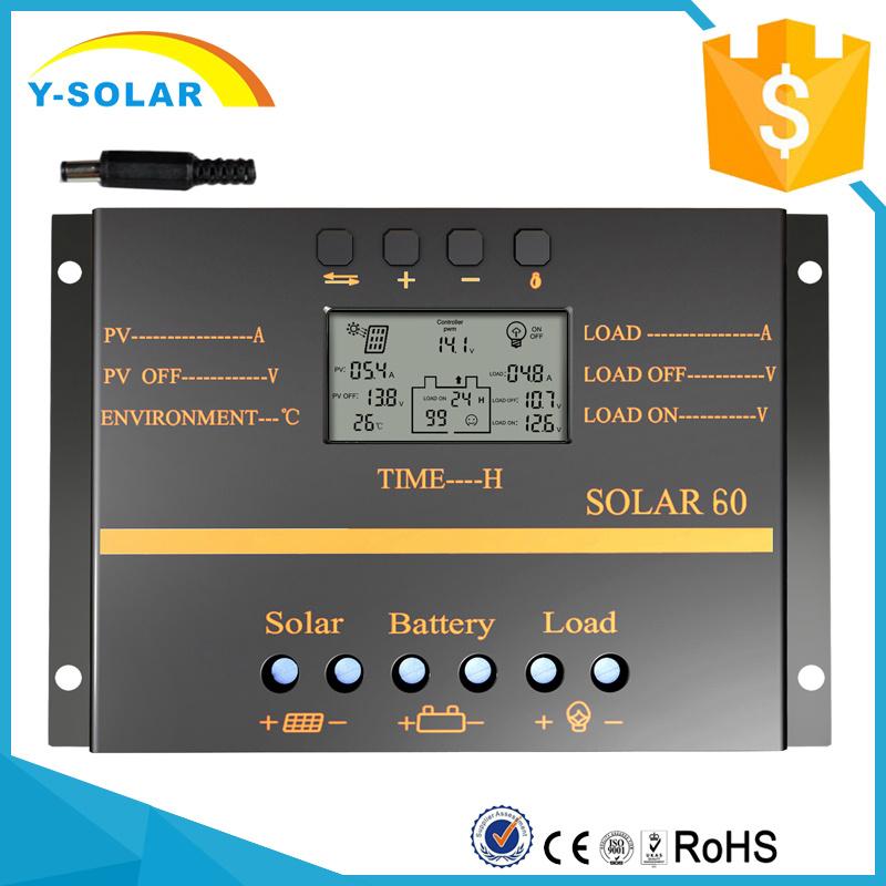 80A 12V/24V Solar PV Cell Controller for Solar System S80