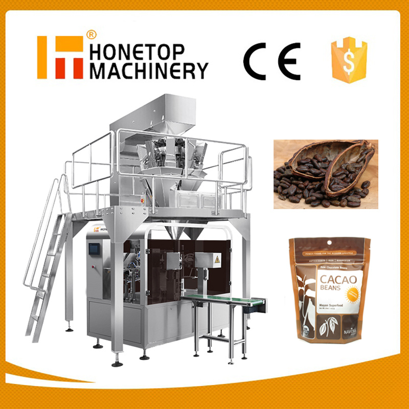 Dried Fruit Packaging Machine Automatic Packing Machine Automatic Pouch Packing Machine Full Automatic Food Packing Machine