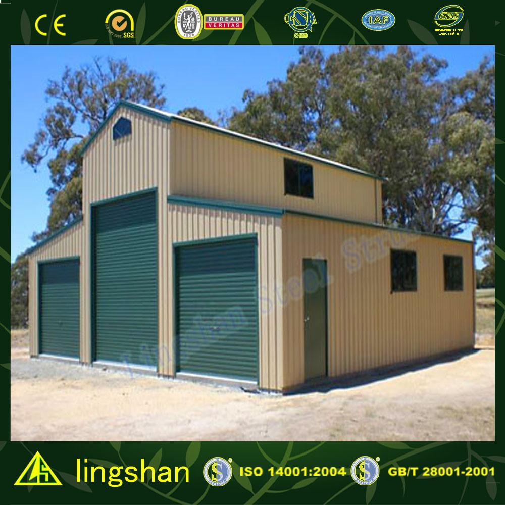 Lingshan Modern Design American Type Steel Barn for Australia (L-S-050)