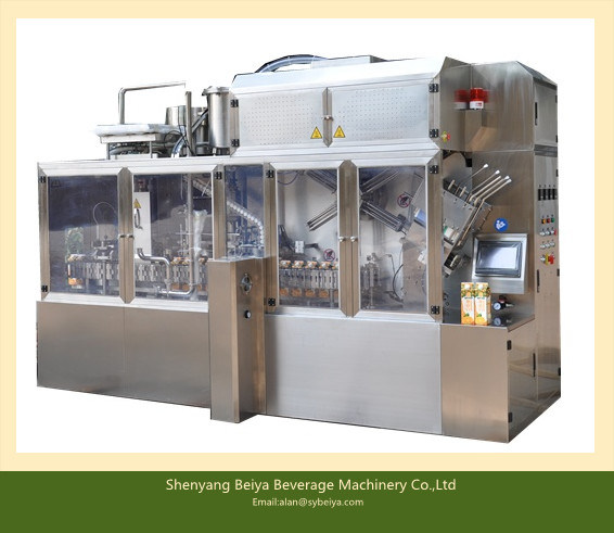 Red Wine Gable Top Carton Filling Machines (BW-2500B)