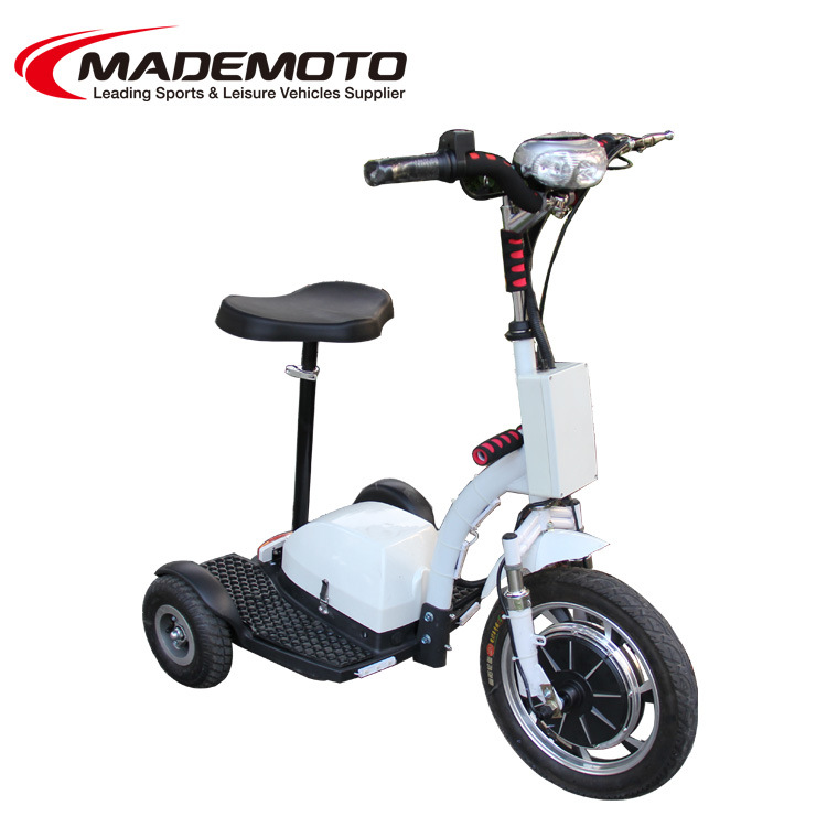 China adult 500 watts three wheel electric scooter trike for 3 wheel motor scooters for adults